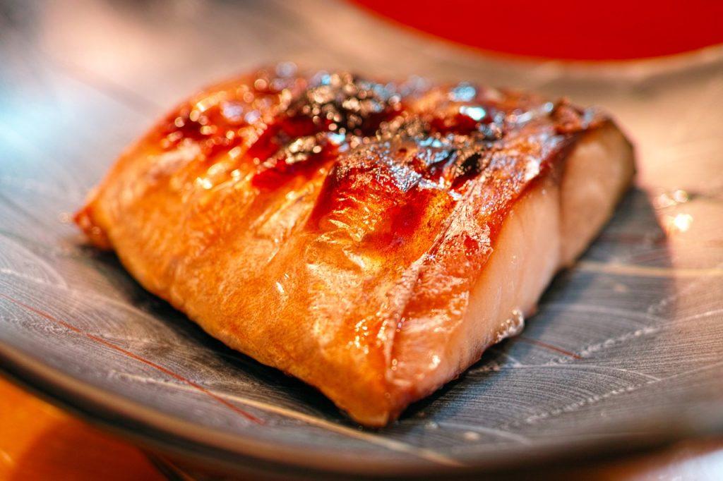 gegarter fisch aus der heissluftfritteuse
